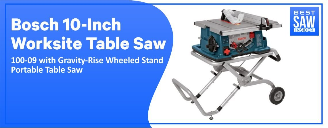 Bosch 4100-09 – Best Portable Table Saw