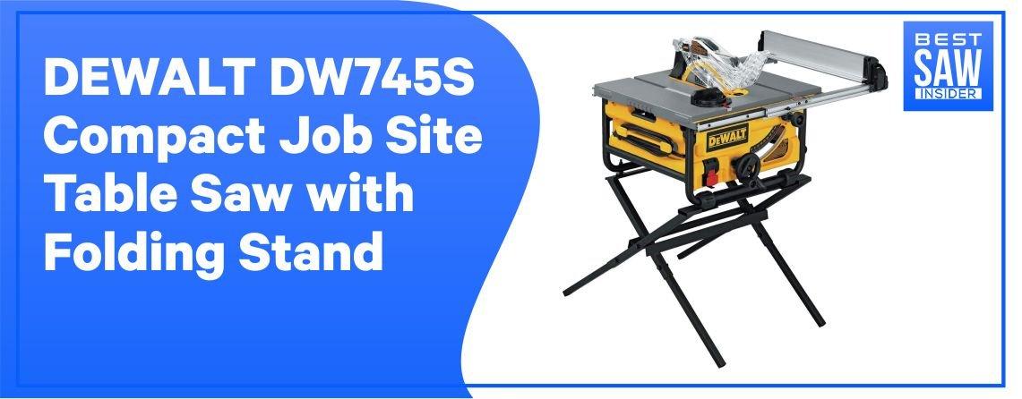 DEWALT DW745 Jobsite – Maximum Rip Capacity