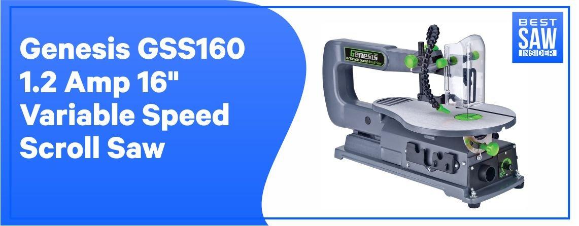Genesis GSS160 - Best Scroll Saw for DIY