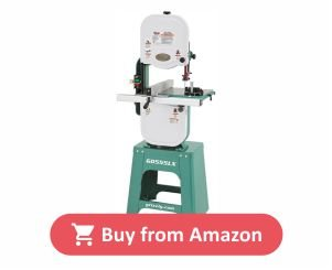 Grizzly G0555LX Deluxe Band Saw, 14 Inch product image