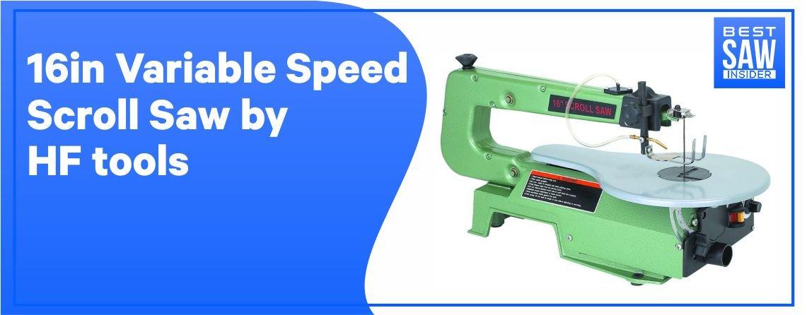 HF Tool Variable Speed Scroll Saw