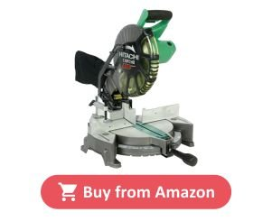 Hitachi C10FCH2 10 inch Single Bevel Miter Saw product image