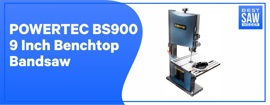 POWERTEC BS900- Bench Top Band Saw