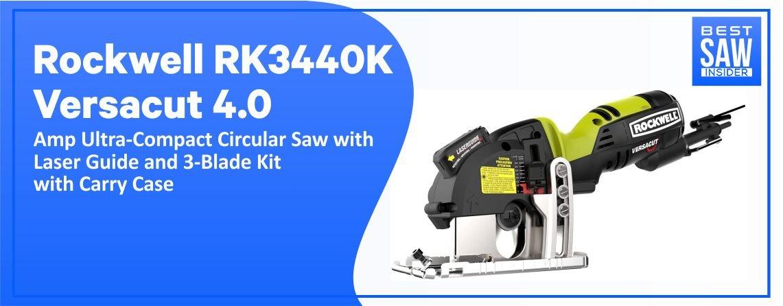 Rockwell RK3440K – Versacut Ultra-Compact Circular Saw