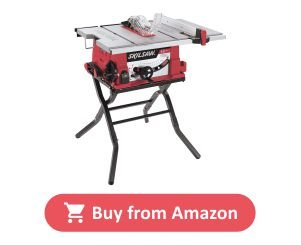 SKIL 3410 – 02 Table Saw – with a Folding Stand product image