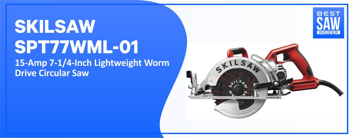 SKILSAW SPT77WML – 01 Lightweight Circular Saw