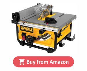 DEWALT DWE7480 - Best Job Site Table Saw product image