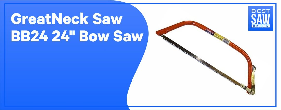 "Great Neck Saw BB24 24"" Bow Saw"