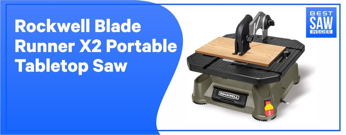 Rockwell Blade Runner X2 - Portable Table Top Saw