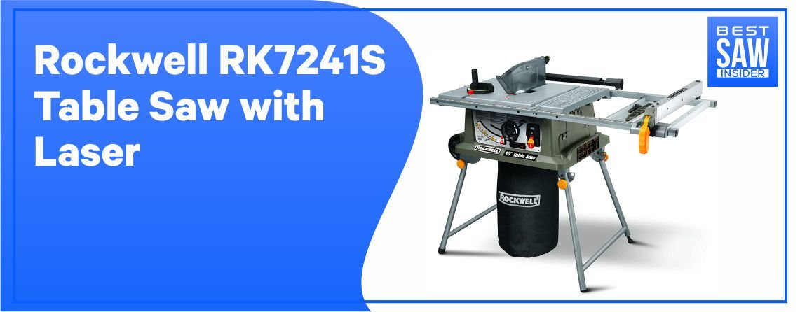 Rockwell RK7241S - Best Table Saw under $500