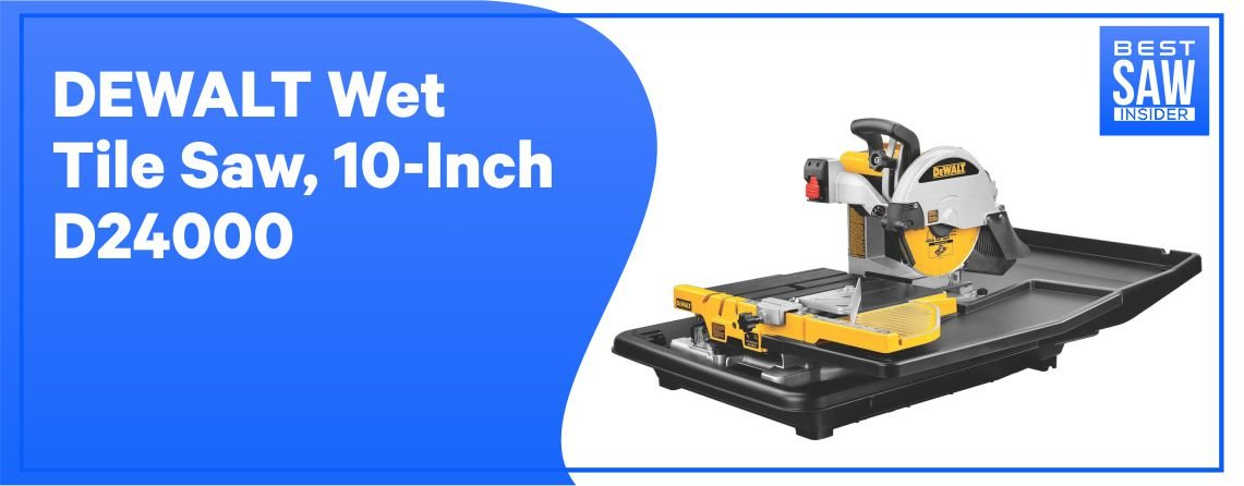 Dewalt D24000 - Best Tile Saw for Marble