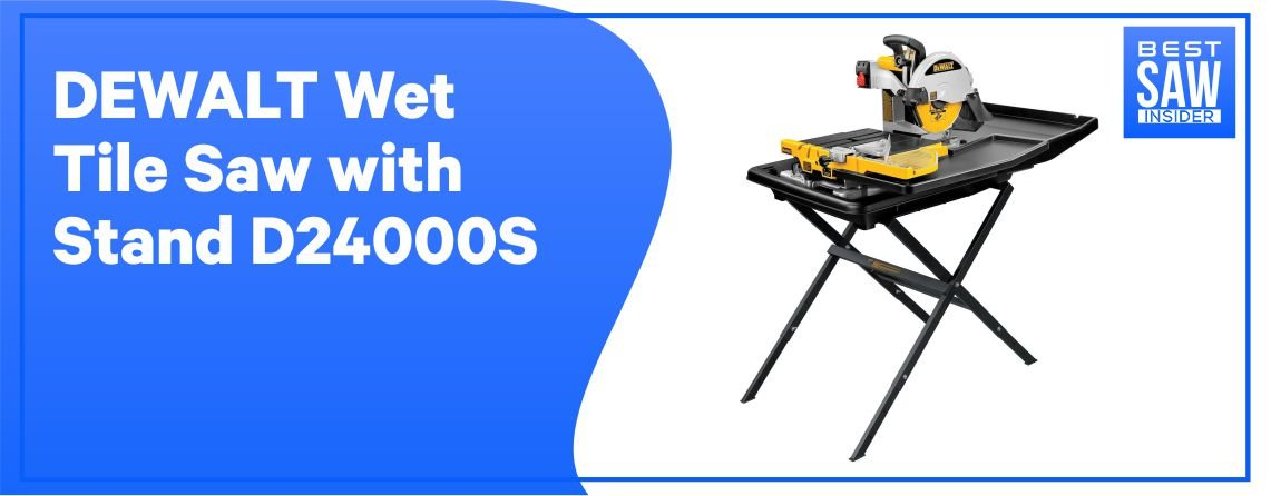 Dewalt D24000S - Best Tile Saw for the Money
