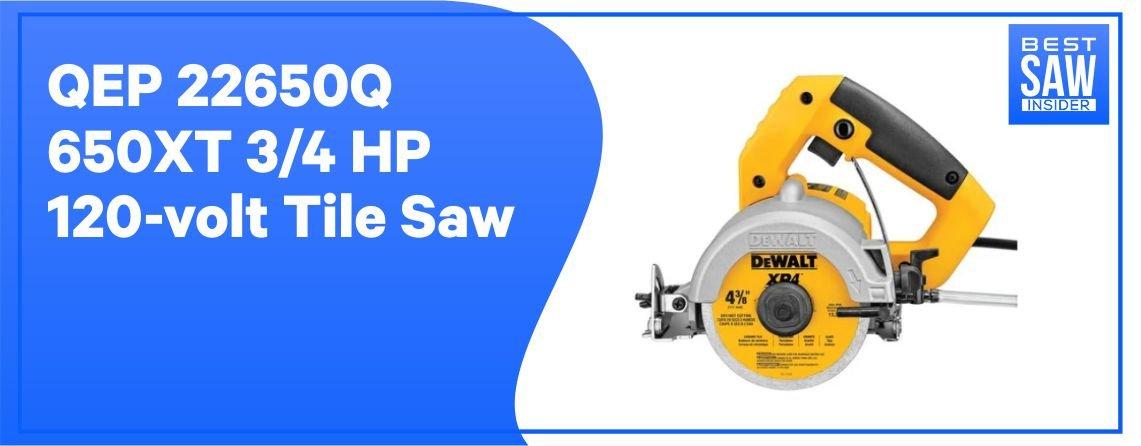 Dewalt DWC860W - 120-volt Tile Saw