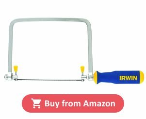 Irwin 2014400 6 - Half Pro Touch Coping Saw product