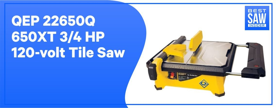 QEP226550Q - Best Tile Saw for Porcelain & Ceramic