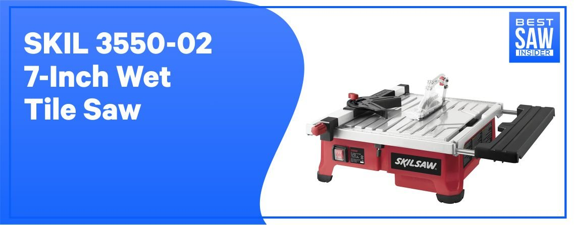 SKIL 3550-02 - Best Wet Tile Saw