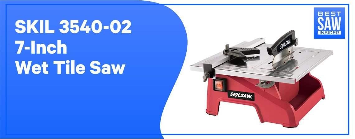 Skil 3540-02 - Best Tile Saw for Large Tiles
