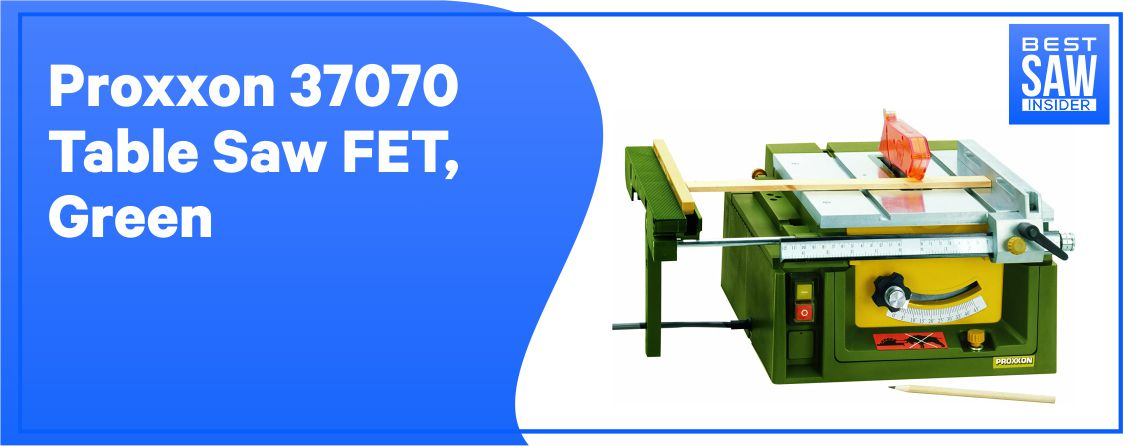 Proxxon 37070 Table Saw FET: