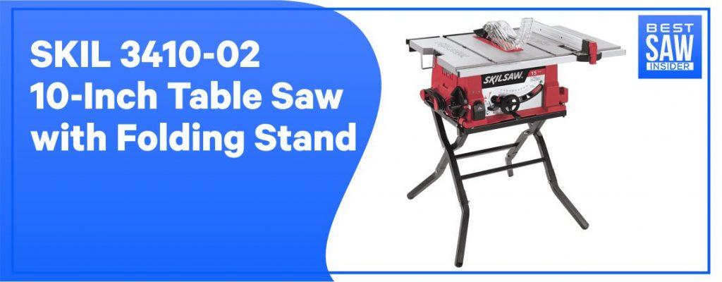 SKIL 3410-02 Table Saw