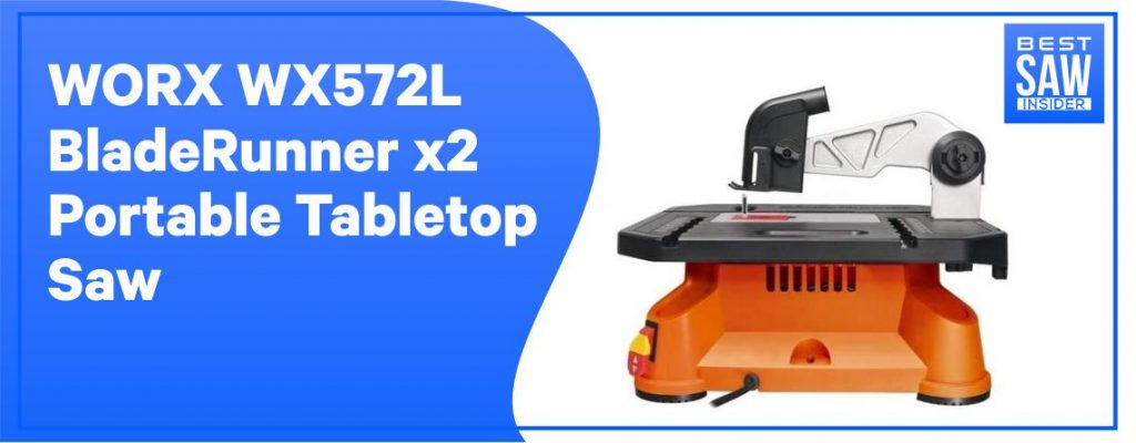 WORX WX572L Best Table Saw for Beginners