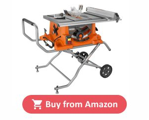 Ridgid Portable Table Saw with Stand product image